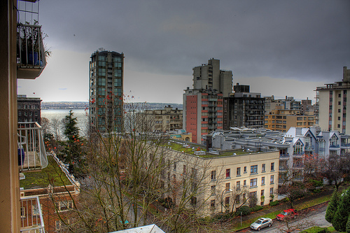 HDR of view from new Balcony