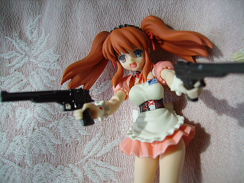 Mikuru Asahina Fighting Waitress ver. Figma