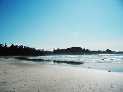 Empty beaches, Tofino